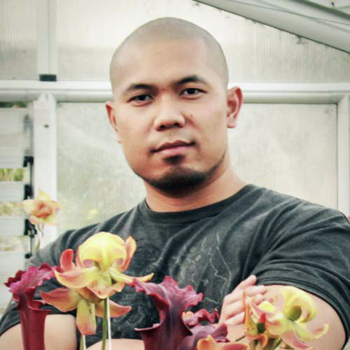Robert Co, Carnivorous Plant Grower, Blogger, Pacifica, California