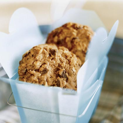 Peanut Butter-Chocolate Chip-Oatmeal Cookies