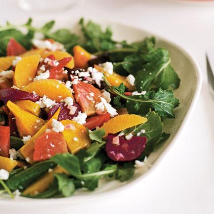 Roasted Beet Salad with Oranges and Queso Fresco (Ensalada de Betabel)