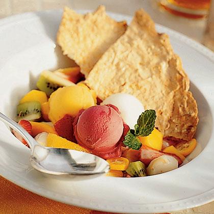 Tropical Fruit Soup