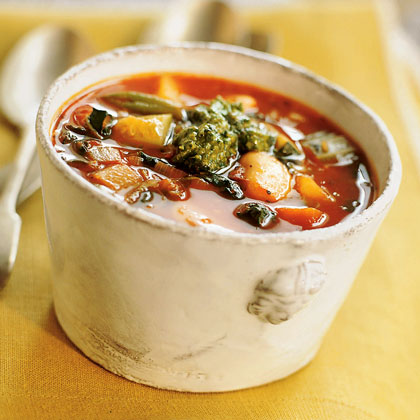 Genoese Vegetable Soup