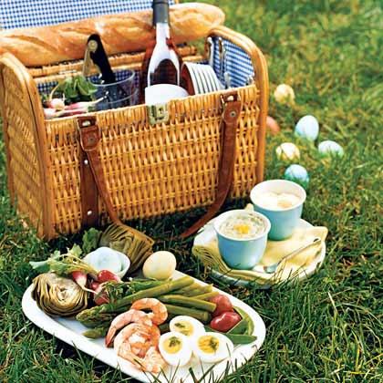 Spring Aioli Feast