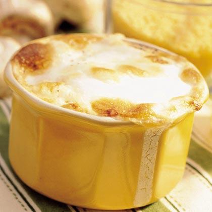 Eggs en Cocotte with Couscous