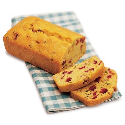 Cranberry Semolina Tea Bread