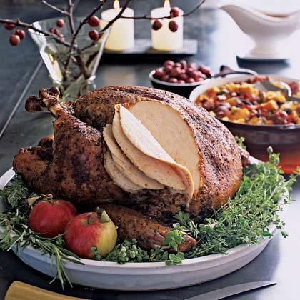 Dry-Cured Rosemary Turkey