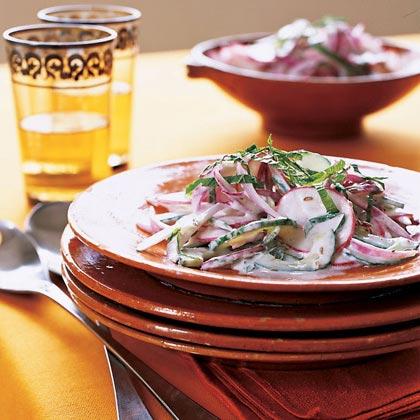 Cumin-Mint Raita Salad