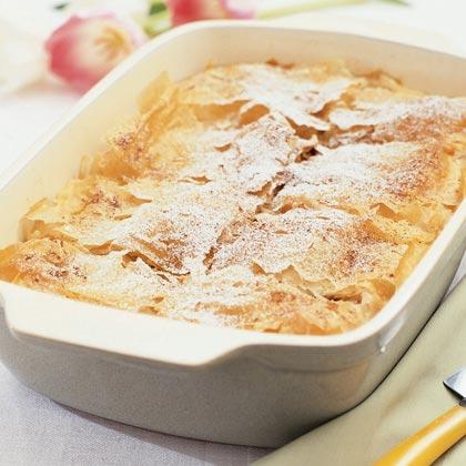 Spiced Chicken Filo Pie