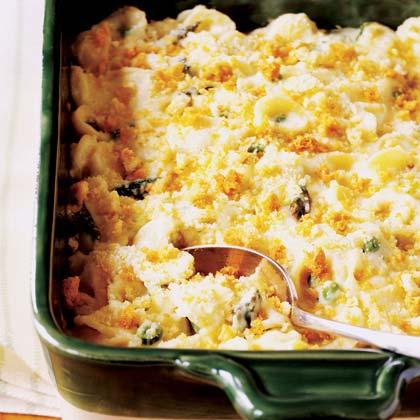 Spring Vegetable Macaroni 'n' Cheese