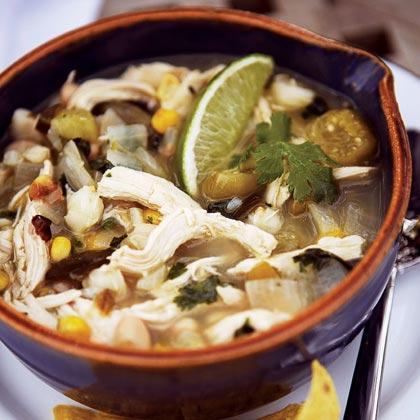 Green Chile-Chicken Stew