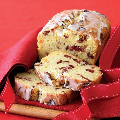 Cranberry-Orange Bread with Grand Marnier Glaze