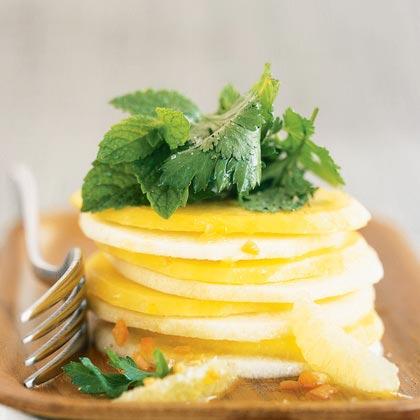 Mango and Jicama Salad with Habanero Vinaigrette