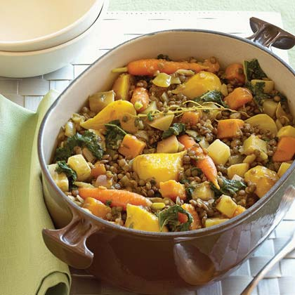 Lentil Stew with Winter Vegetables