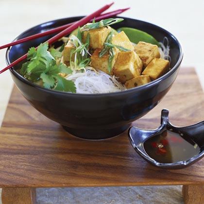 Sautéed Tofu (Dau Hu Xao Dau Hao)