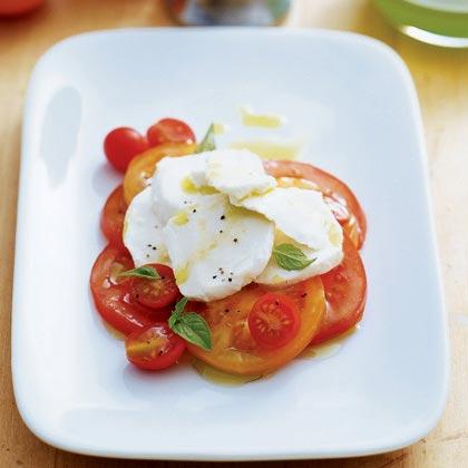 Tomato and Basil Orzo Salad