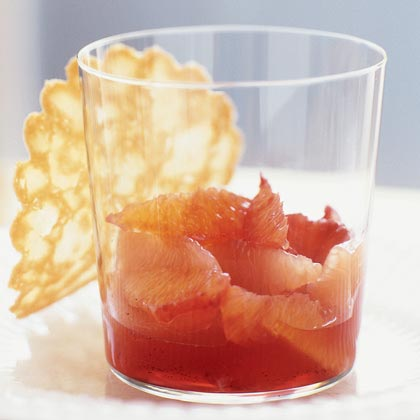 Blood Orange and Grapefruit Compote