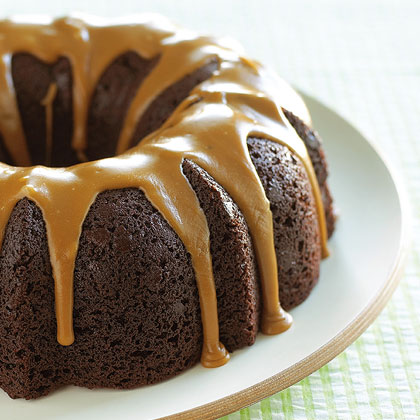 Glazed Chocolate Bundt Cake