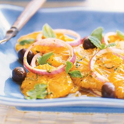 Spiced Orange Salad