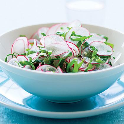 Radish and Sorrel Salad