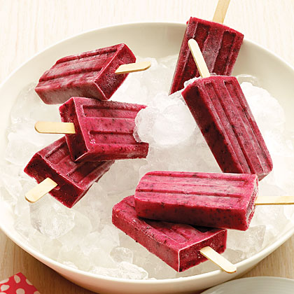 Triple-Berry Popsicles