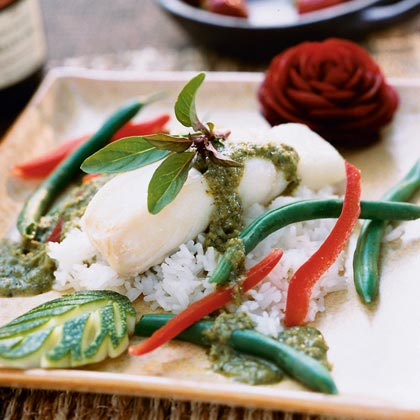 Thai Green Curry Fish