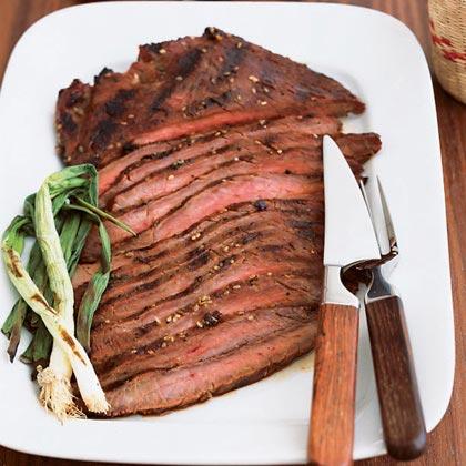 northwest grilled flank steak recipe sunset magazine