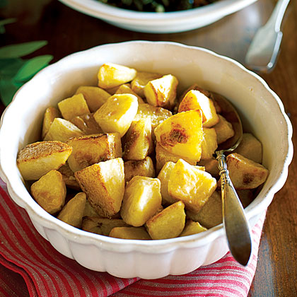 Golden Olive Oil–roasted Potatoes