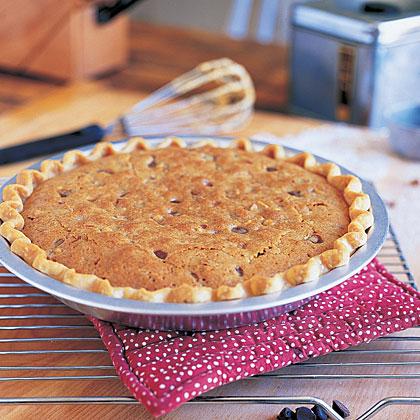 Chocolate Chip Walnut Pie