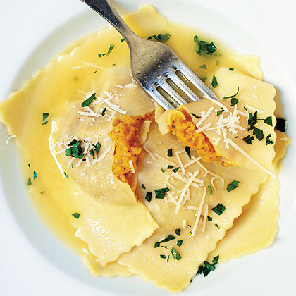 How to make ravioli with dried lasagne sheets