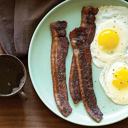 Coffee and Brown Sugar Bacon