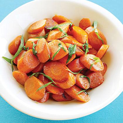 Sautéed Carrots with Tarragon