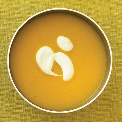 Curried Roasted Squash Soup