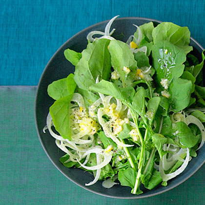 Arugula, Fennel, and Preserved Lemon Salad