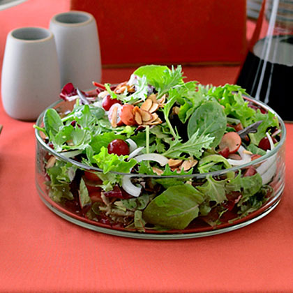 Grape, Toasted Almond, and Sweet-Onion Salad