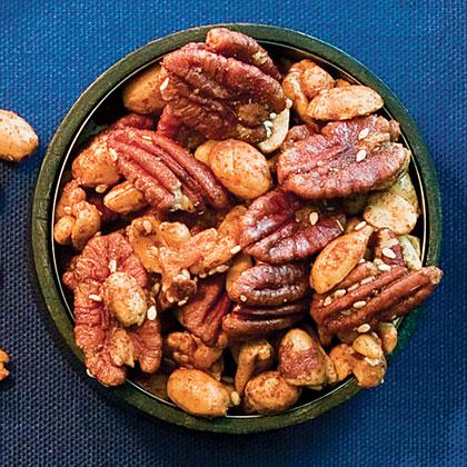Spicy Sesame-Nut Mix