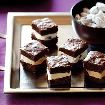 Brownie Ice Cream Mini Wiches Recipe Sunset Magazine