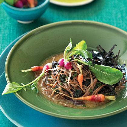 "Soba ""Fideos"" with Sea Vegetables"