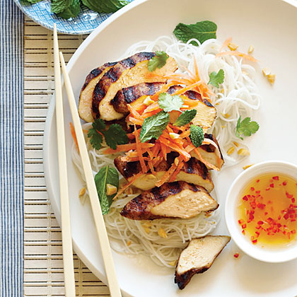 Five-Spice Chicken Noodle Salad