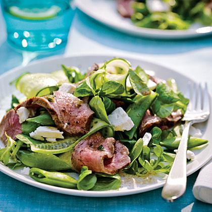 Grecian Steak Salad