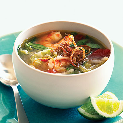 Sweet and sour shrimp soup sunset magazine sweet and sour shrimp soup forumfinder Choice Image