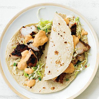 Baja Light Fish Tacos