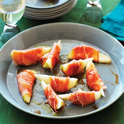 Prosciutto-Wrapped Pears