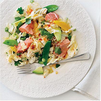 su-Salmon Sesame Salad