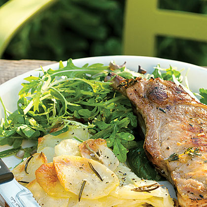 su-Easy Lettuce and Herb Salad