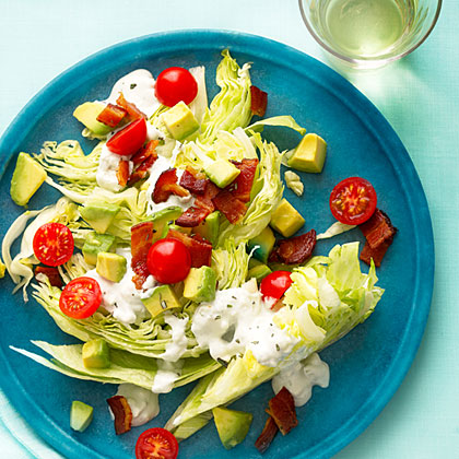su-Rosemary Bacon, Lettuce, and Tomato Salad