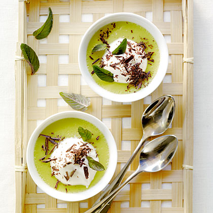 su-Chocolate Mint Pots de Creme
