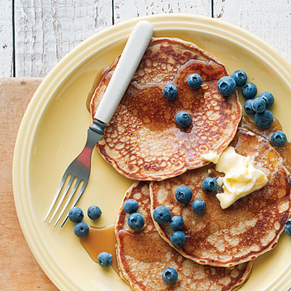 su-Hearty Whole-Grain Pancakes