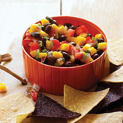 su-Mango and Tomato Salsa