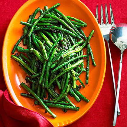 su-Chinese Long Beans with XO Sauce