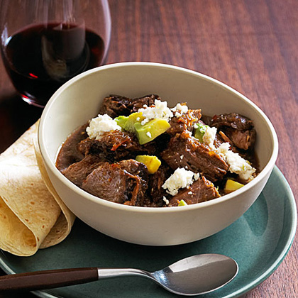 su-Slow-Braised Red Chile Beef