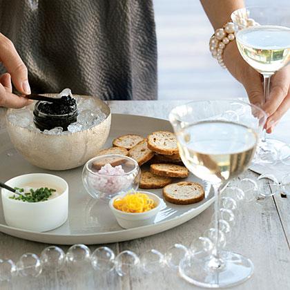 su-California Caviar Tasting